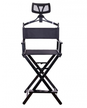 Алюминиевый стул визажиста-бровиста с подголовником