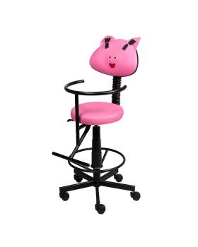 """Детское парикмахерское кресло """"Бэби"""""""